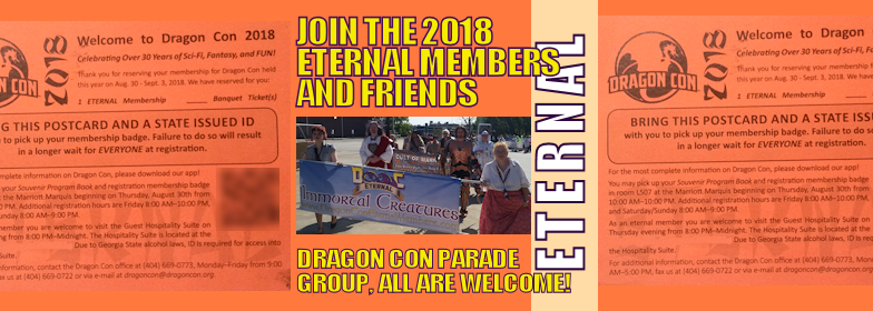 Facebook Event cover photo 2018 Saturday Eternals and Friends Parade Group 784 x 280 pixels current