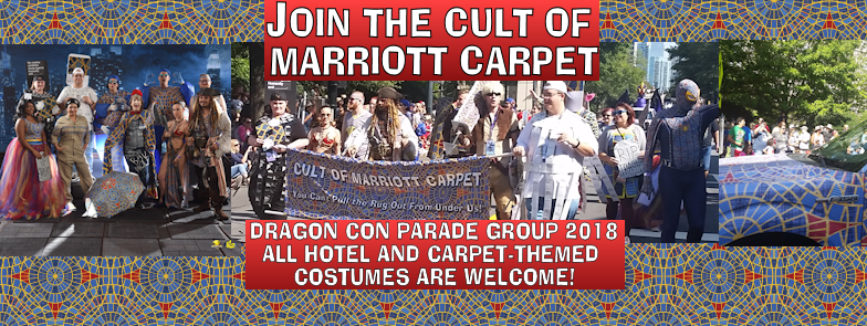 Marriott Carpet Parade Group 2018 Facebook Event cover photo 784 x 295 pixels