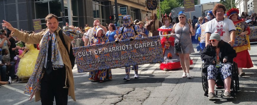 Cult of Marriott Carpet parade photo 2018